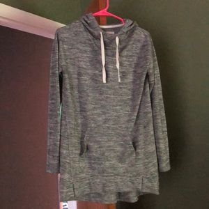 Grey long sweatshirt
